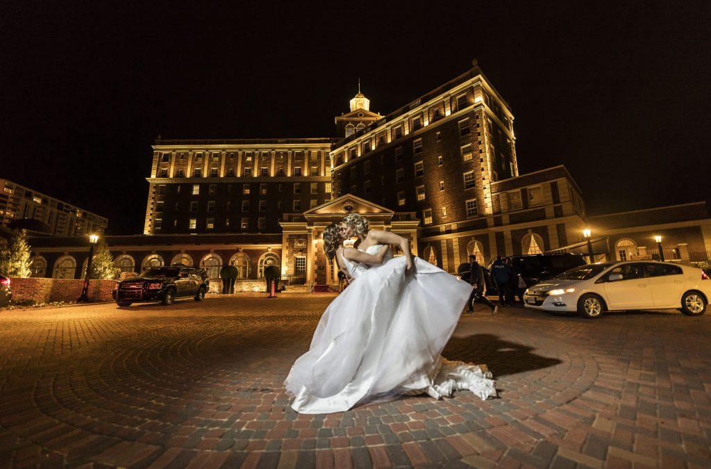 Waterford Wednesday: The Cavalier Hotel Shoot in COVA Bride