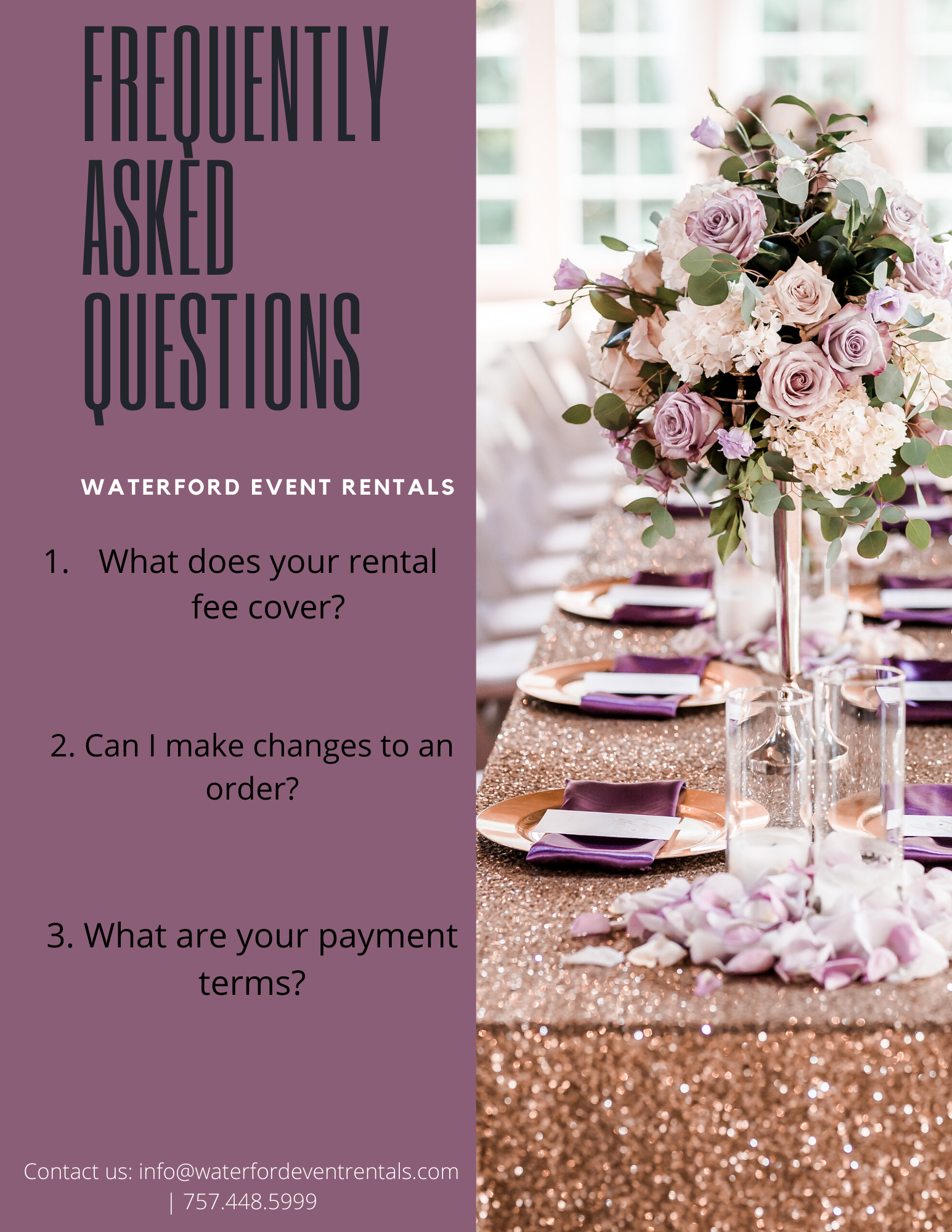 Top 3 Most Asked Rental Questions