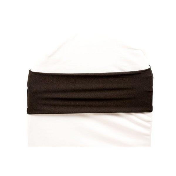 Spandex-Chair-Band-Black