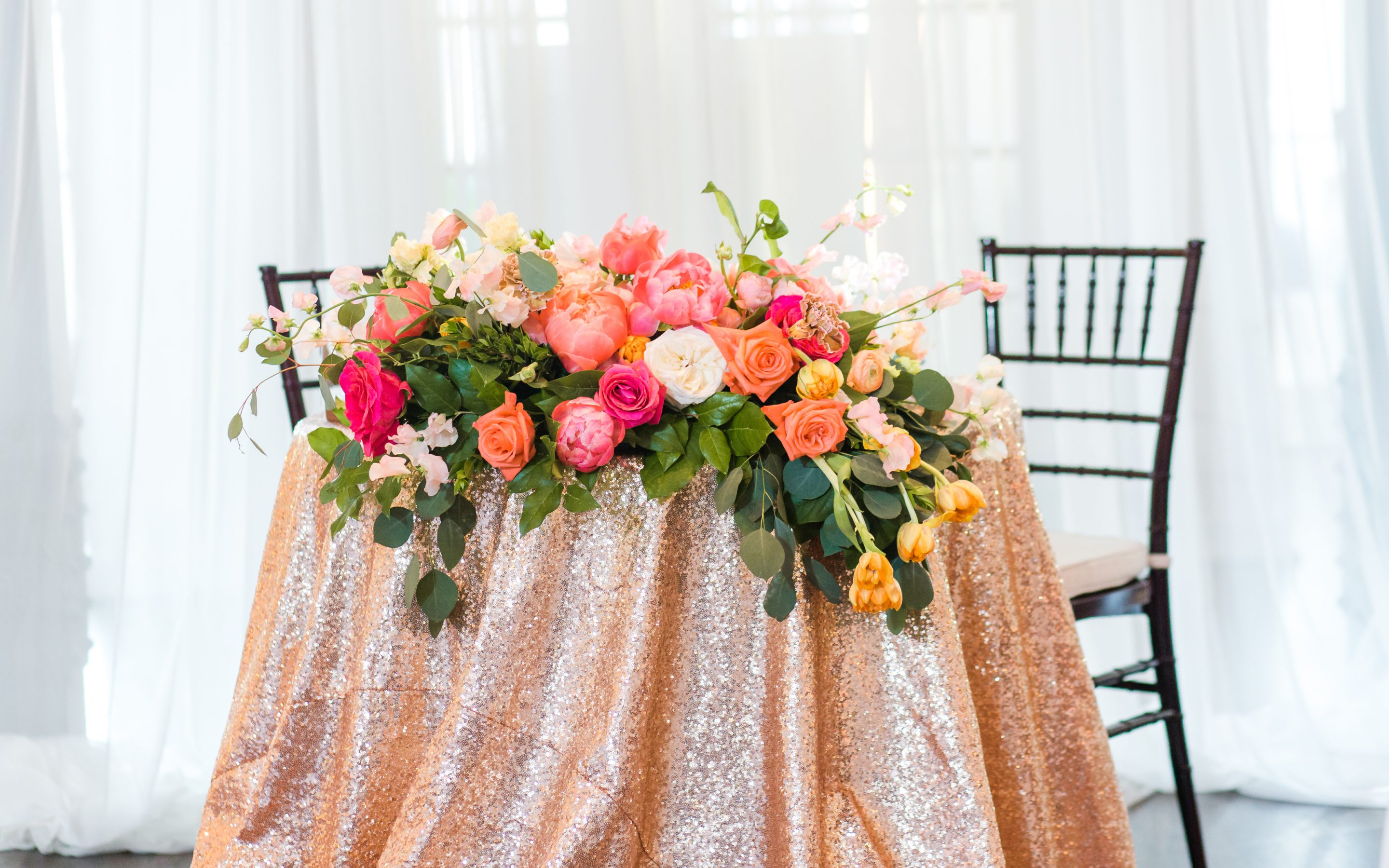 Fun Colors to Bring Your Reception to Life