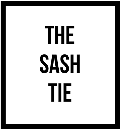 View the different styles of tying sashes